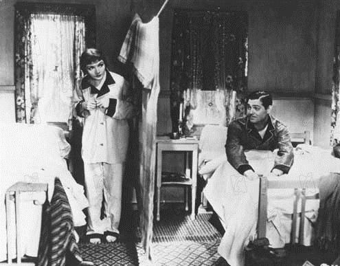 New York-Miami : Photo Clark Gable, Claudette Colbert, Frank Capra