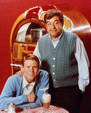 Happy Days - Les jours heureux : Photo Ron Howard, Tom Bosley