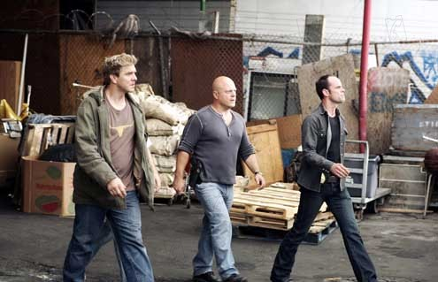 The Shield : Photo Kenny Johnson, Michael Chiklis, Walton Goggins