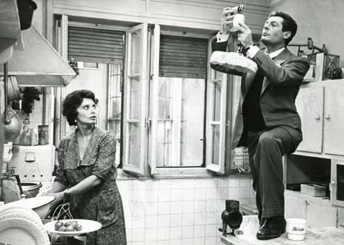 Une journée particulière : Photo Marcello Mastroianni, Sophia Loren