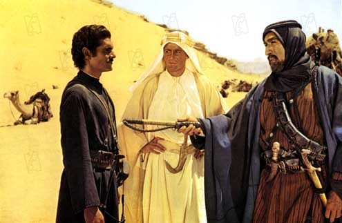 Lawrence d'Arabie : Photo Anthony Quinn, Omar Sharif, Peter O'Toole
