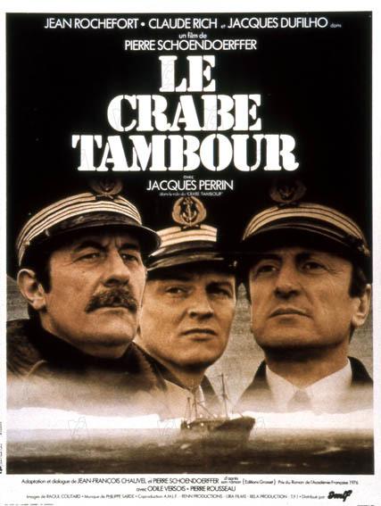 Le Crabe tambour : affiche Pierre Schoendoerffer