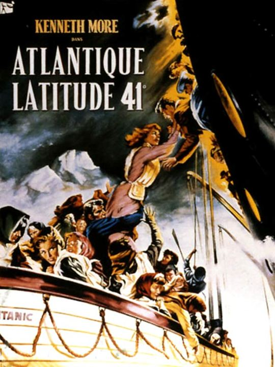 Atlantique latitude 41 : Affiche Roy Ward Baker