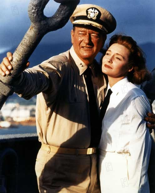 Première victoire : Photo John Wayne, Otto Preminger, Patricia Neal