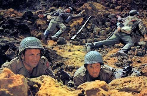 La bataille pour Anzio : Photo Edward Dmytryk, Peter Falk, Robert Mitchum