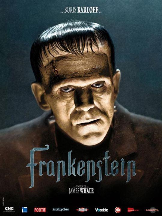 Frankenstein : Affiche Boris Karloff, James Whale