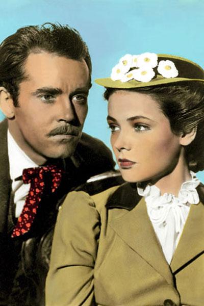 Le Retour de Frank James : Photo Gene Tierney, Henry Fonda