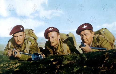 Les Bérets rouges : Photo Alan Ladd, Anton Diffring, Terence Young