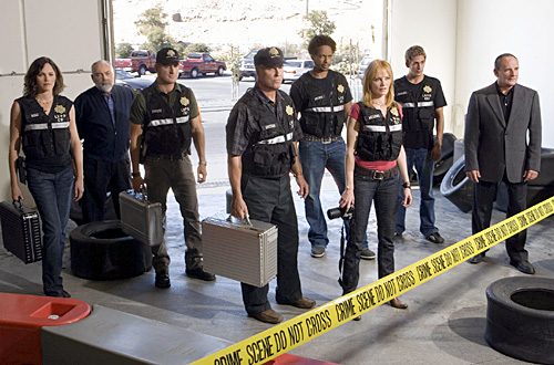 Les Experts : Photo Eric Szmanda, Gary Dourdan, George Eads, Jorja Fox, Marg Helgenberger