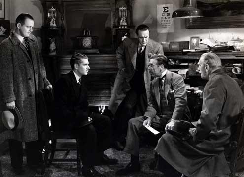 Rebecca : Photo George Sanders, Laurence Olivier, Leo G. Carroll