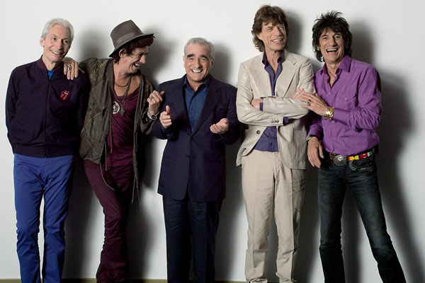 Shine a Light : Photo Charlie Watts, Keith Richards, Martin Scorsese, Mick Jagger, Ron Wood