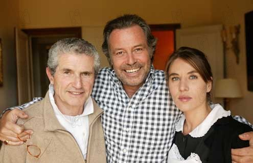 Le Courage d'aimer : Photo Claude Lelouch, Mathilde Seigner, Michel Leeb