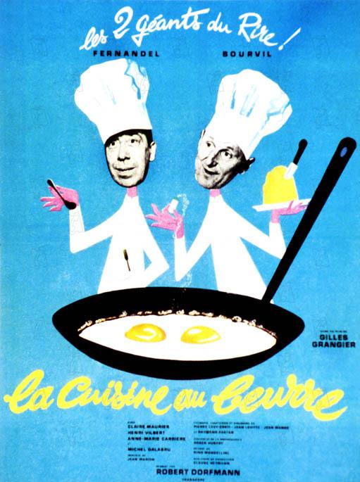 Affiche du film la cuisine au beurre affiche 1 sur 1 for Affiche pour cuisine