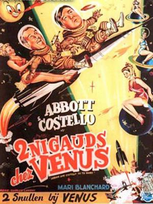 Affichette (film) - FILM - Deux nigauds chez Vénus : 132325