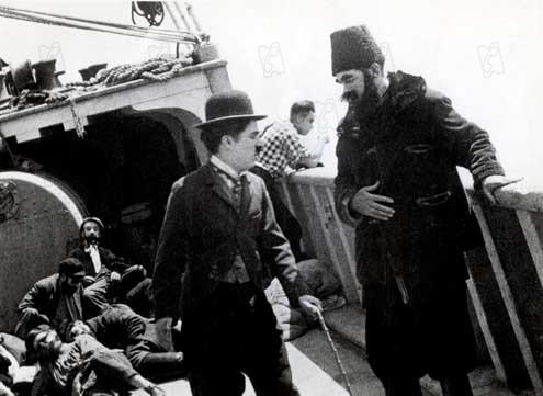 L'Emigrant : Photo Charles Chaplin, Edna Purviance