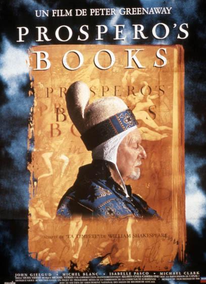 Prospero's books : Affiche Peter Greenaway