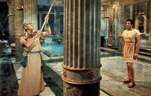 Les Gladiateurs : Photo Delmer Daves, Victor Mature