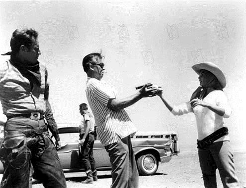 Les Grands espaces : Photo Charlton Heston, Jean Simmons, Stewart Granger
