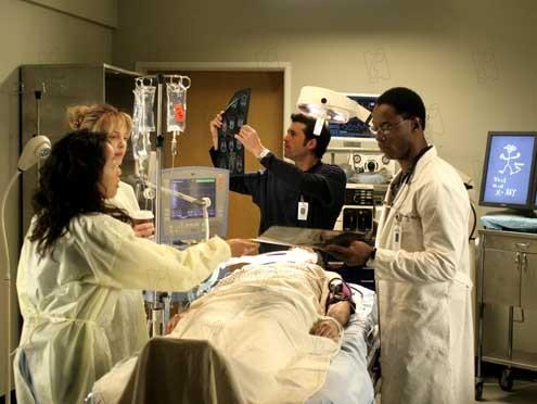 Grey's Anatomy : Photo Isaiah Washington, Sandra Oh
