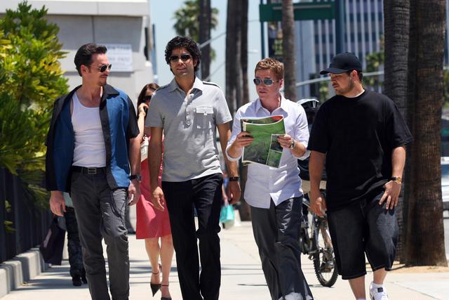Entourage : Photo Adrian Grenier, Jerry Ferrara, Kevin Connolly, Kevin Dillon