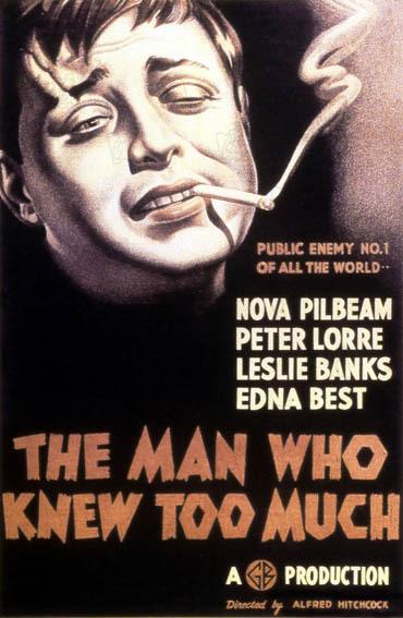 L'Homme qui en savait trop : Affiche Peter Lorre
