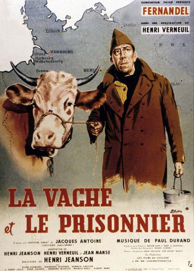 La Vache et le prisonnier : Affiche