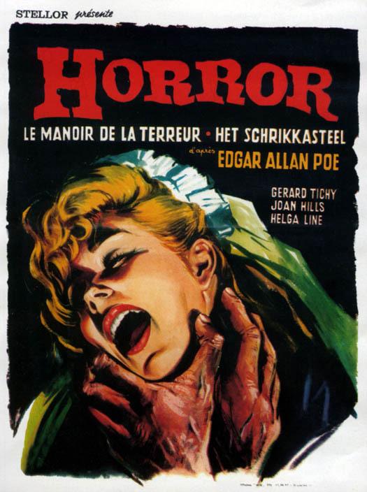 Le Manoir de la terreur : Affiche Andrea Bianchi