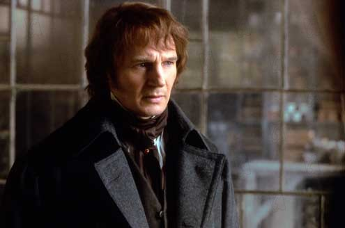 Les Misérables : Photo Bille August, Liam Neeson