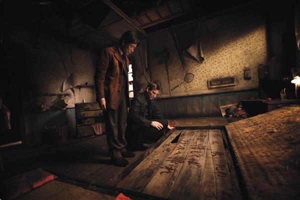 Inju, la bête dans l'ombre : Photo Barbet Schroeder, Benoît Magimel