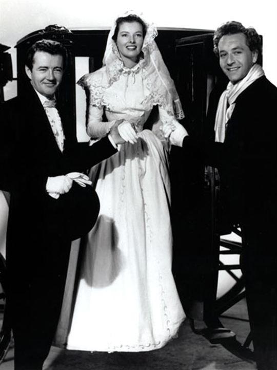 Passion immortelle : Photo Clarence Brown, Katharine Hepburn, Robert Walker