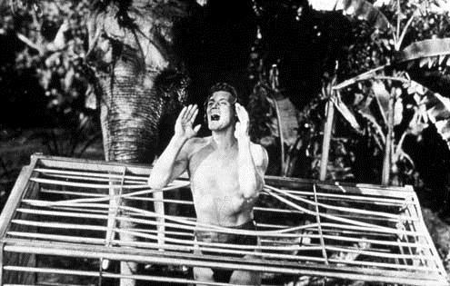 Tarzan s'évade : Photo Johnny Weissmuller, Maureen O'Sullivan, Richard Thorpe