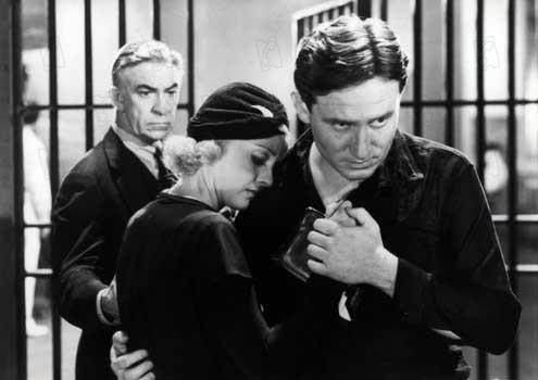 Vingt mille ans sous les verrous : Photo Bette Davis, Michael Curtiz, Spencer Tracy