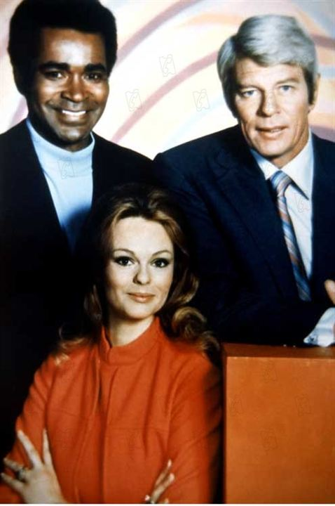 Mission: Impossible (1966) : Photo Greg Morris, Lynda Day George, Peter Graves