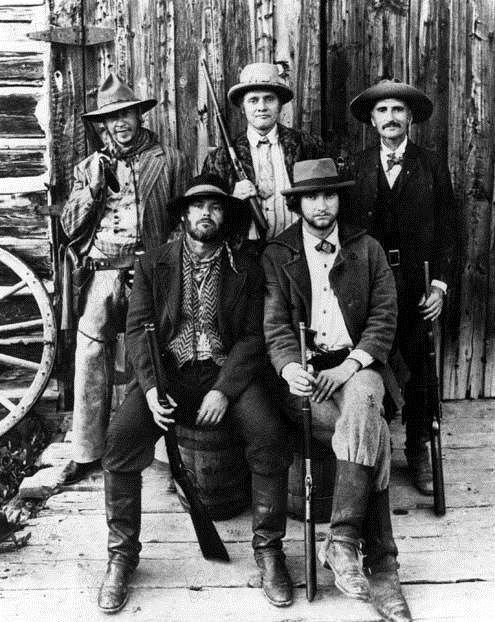 The Missouri Breaks : Photo Arthur Penn, Harry Dean Stanton, Jack Nicholson, Randy Quaid