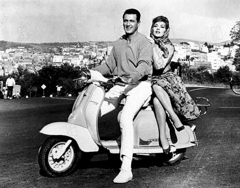 Le Rendez-vous de septembre : Photo Gina Lollobrigida, Robert Mulligan, Rock Hudson