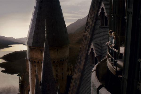 Harry Potter et le Prince de sang mêlé : Photo Daniel Radcliffe, Emma Watson