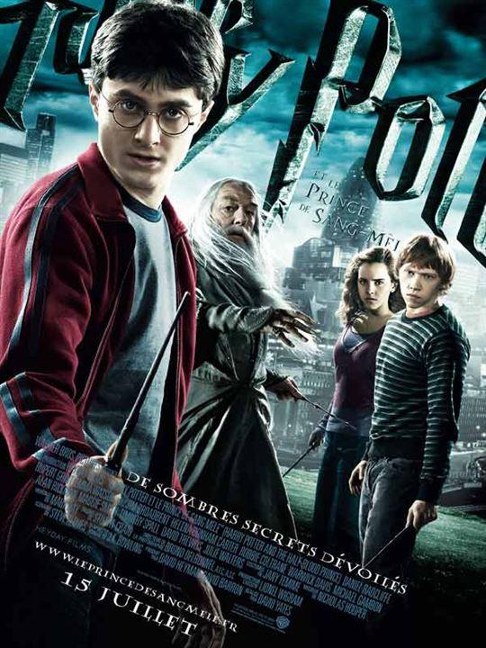 Harry Potter et le Prince de sang mêlé : affiche David Yates