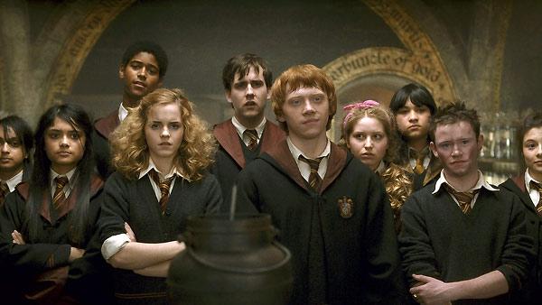 Harry Potter et le Prince de sang mêlé : Photo Afshan Azad, Alfie E, Devon Murray, Emma Watson, Jessie Cave