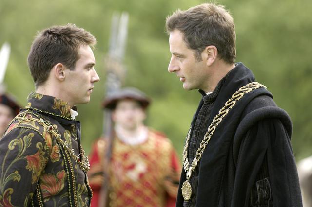 Les Tudors : Photo Jeremy Northam, Jonathan Rhys-Meyers