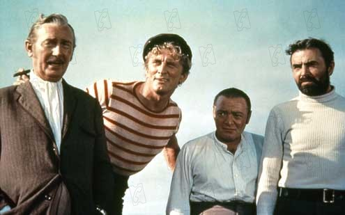 20.000 lieues sous les mers : photo James Mason, Kirk Douglas, Paul Lukas, Peter Lorre, Richard Fleischer