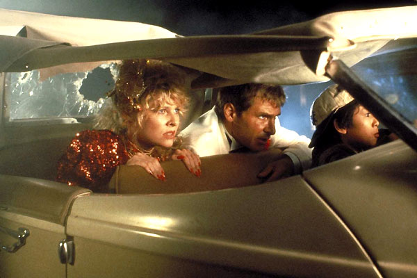 Indiana Jones et le Temple maudit : Photo Harrison Ford, Jonathan Ke Quan, Kate Capshaw