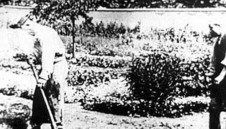 L'Arroseur arrosé : Photo Louis Lumière