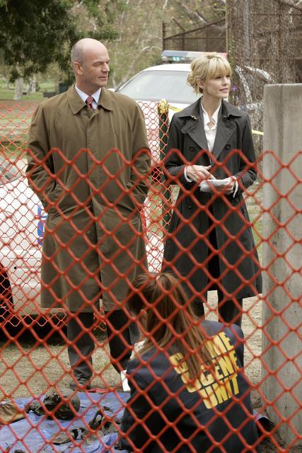 Cold Case : affaires classées : Photo John Finn, Kathryn Morris