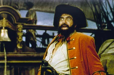 Barbe-Noire le pirate : Photo Raoul Walsh, Robert Newton