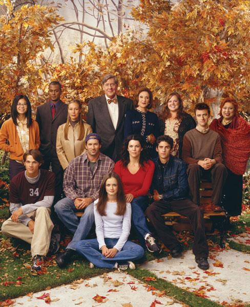 Gilmore Girls : Photo Alexis Bledel, Edward Herrmann, Jared Padalecki, Keiko Agena, Kelly Bishop
