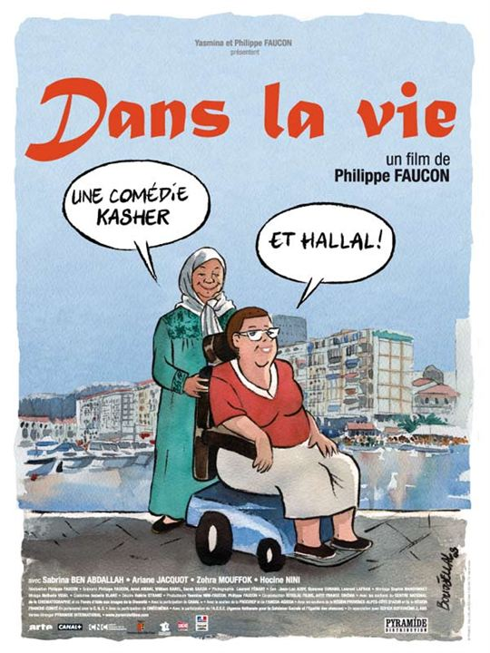 Dans la vie : affiche Philippe Faucon