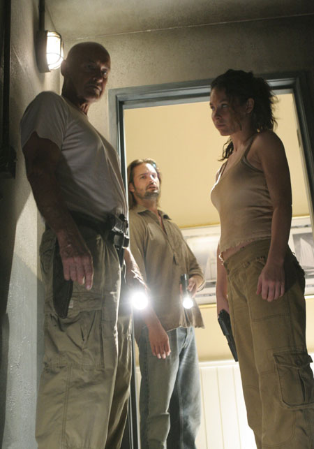 Lost, les disparus : Photo Evangeline Lilly, Josh Holloway, Terry O'Quinn