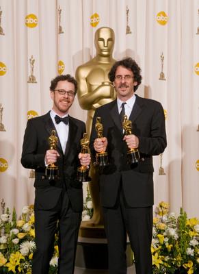 Cérémonie des Oscars 2008 : Photo Ethan Coen, Joel Coen