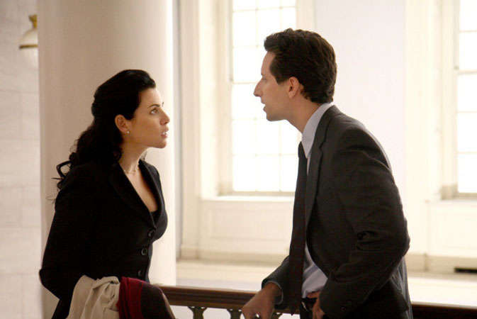 La Loi de Canterbury : Photo Ben Shenkman, Julianna Margulies