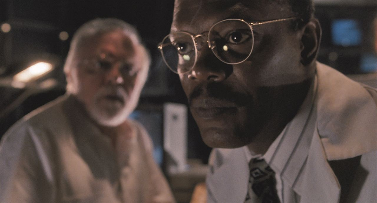 Jurassic Park : Photo Richard Attenborough, Samuel L. Jackson